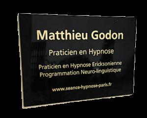 Plaque Hypnose